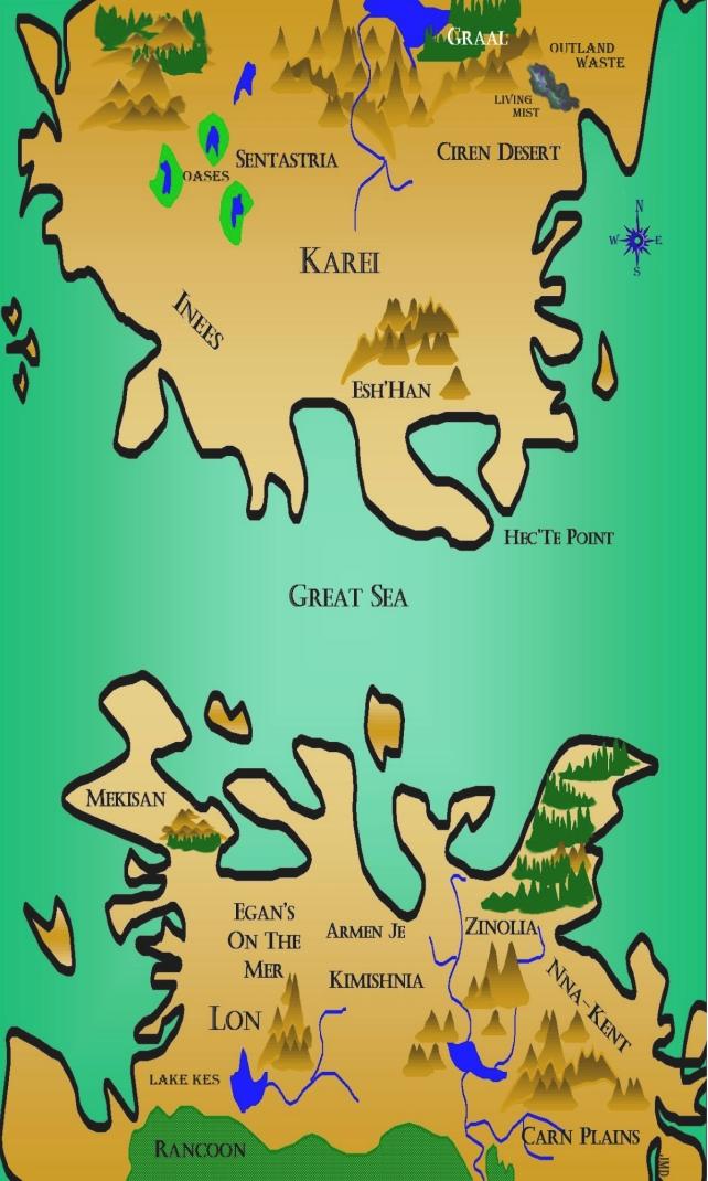Mistborn Map