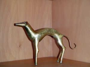Moroccan Sighthound Sculpture