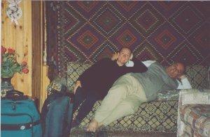 Mustafa & I in Pemukkale