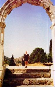 Gateway to Ephesus' agora