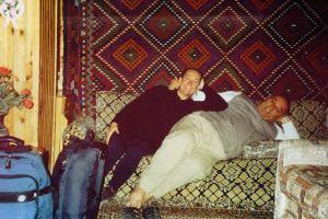Mustafa and I - Pamukkale