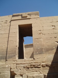 Egyptian passageways
