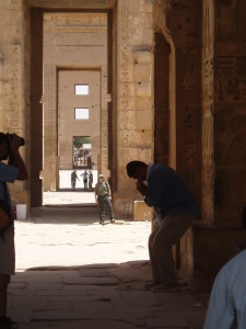 Egyptian passageway