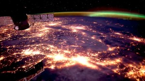 Earth from the space station