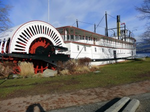 Paddle-wheeler as museum